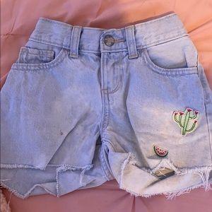 Summer theme shorts